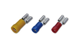 PVC Insulated Female Lug(Double Crimp)