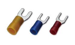 PVC Insulated Fork Terminals(Easy Entry)