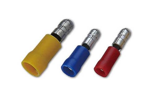 PVC Insulated Bullet Connectors(Double Crimp)
