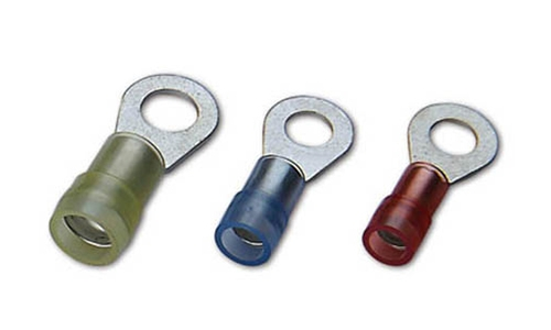 Nylon Insulated DIN46237 Ring Terminals(Double Crimp)