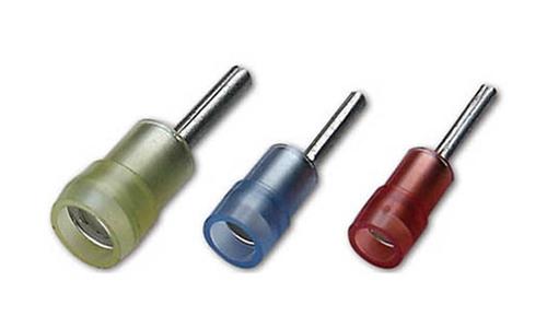 Nylon Insulated Pin Terminals(Double Crimp)