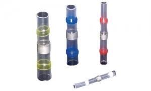 防水銲錫熱縮中接管