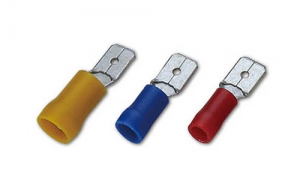 PVC Insulated Male Lug(Double Crimp)