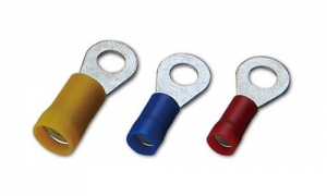PVC Insulated DIN46237 Ring Terminals(Double Crimp)