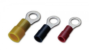 Nylon Insulated DIN46237 Ring Terminals(Easy Entry)