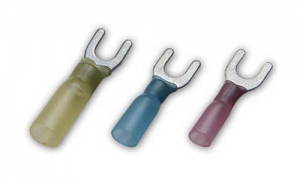 Insulated Heat Shrinkable Fork Terminals(Brazed Seam)