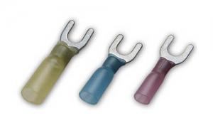 Insulated Heat Shrinkable Fork Terminals(Brazed Seam)