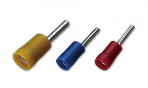 PVC Insulated Pin Terminals(Double Crimp)