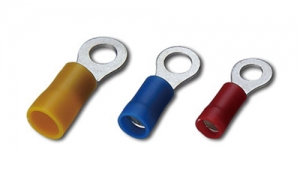PVC Insulated Ring Terminals(Double Crimp)