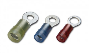 Nylon Insulated Ring Terminals(Double Crimp)