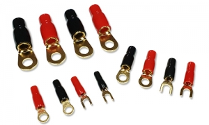 Gold Plated Ring Terminals
